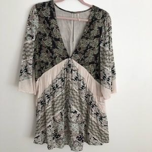 Free People Bella Printed Tunic Top
